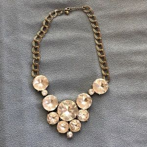 Nordstrom Bling statement necklace